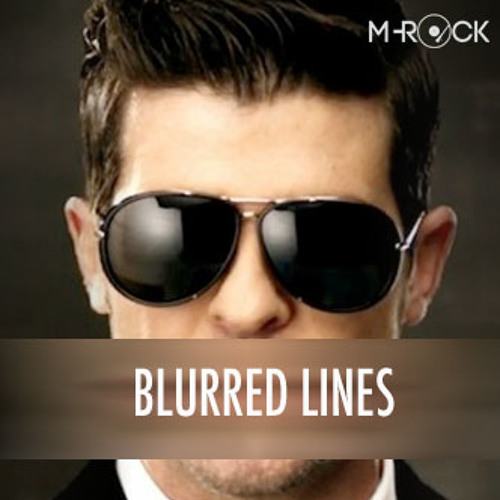 Robin Thicke Blurred Lines Cast