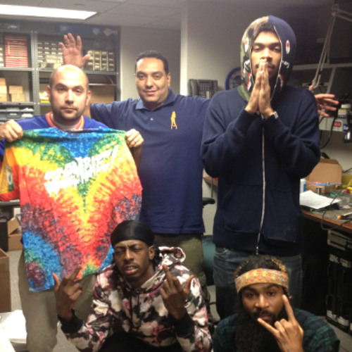 Juan Epstein with Flatbush Zombies !!!