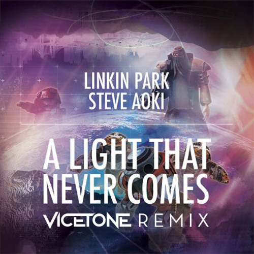 Linkin Park x Steve Aoki - A Light That Never Comes (Vicetone Remix)