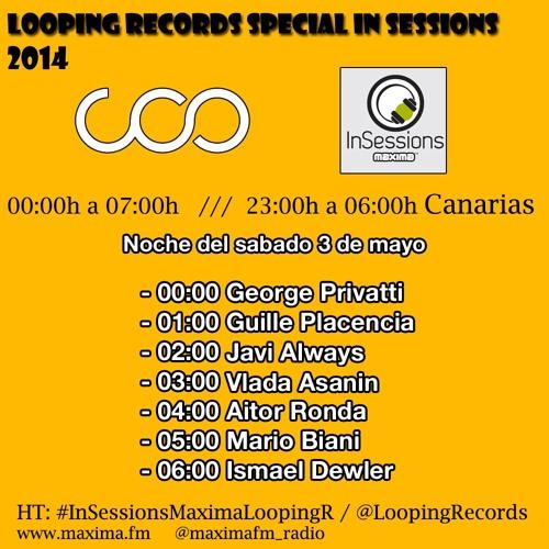 1- GEORGE PRIVATTI - Looping Records en Maxima FM 03 - 05 - 14