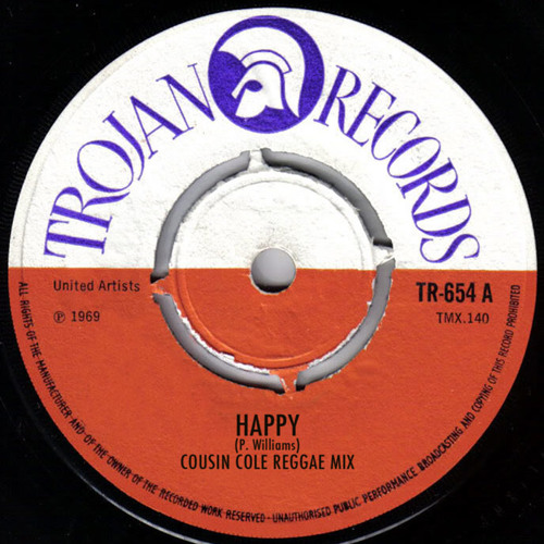 Pharrell - Happy (Cousin Cole's Reggae Mix)